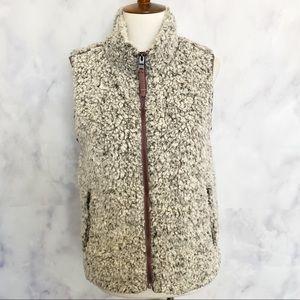 True Grit | Frosty Tipped Pile Full Zip Vest
